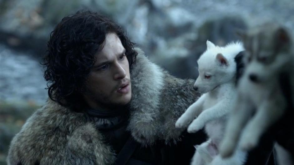 Jon Snow junto a su fiel lobo. (Foto: lavozdegalicia.es)