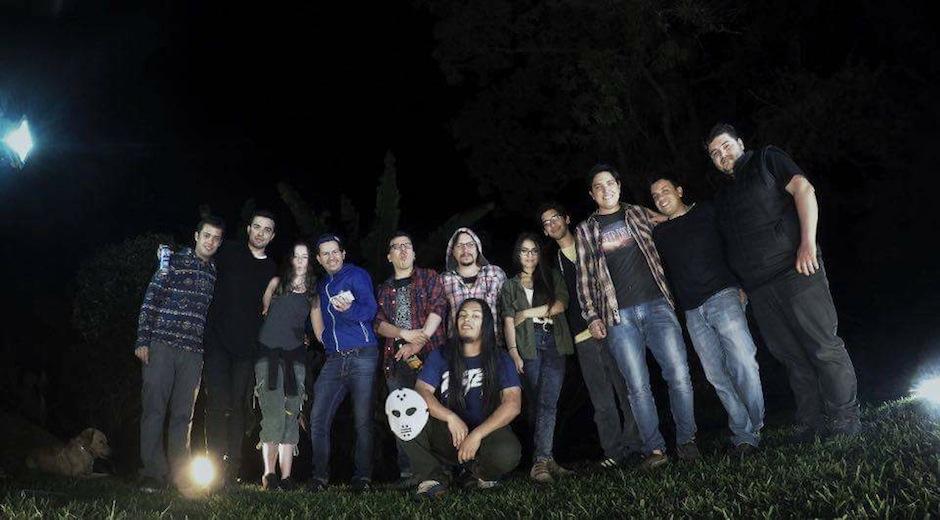 Este es el equipo involucrado en la realización del video. (Foto: Jonathan Carrión)
