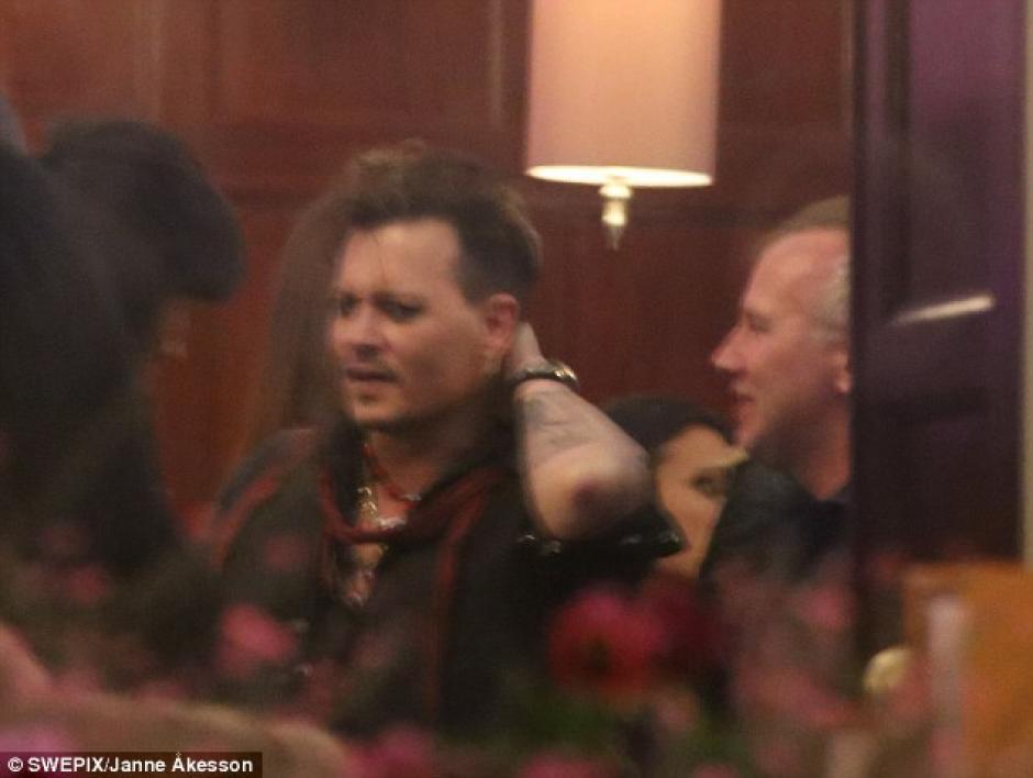 La banda de Jhonny Depp está de gira. (Foto: Swepix/janne Akesso)