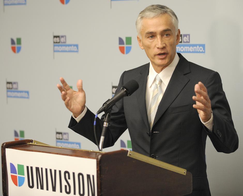 Jorge Ramos es el periodista con mayor reconocimiento de Univisión. (Foto: Twitter)