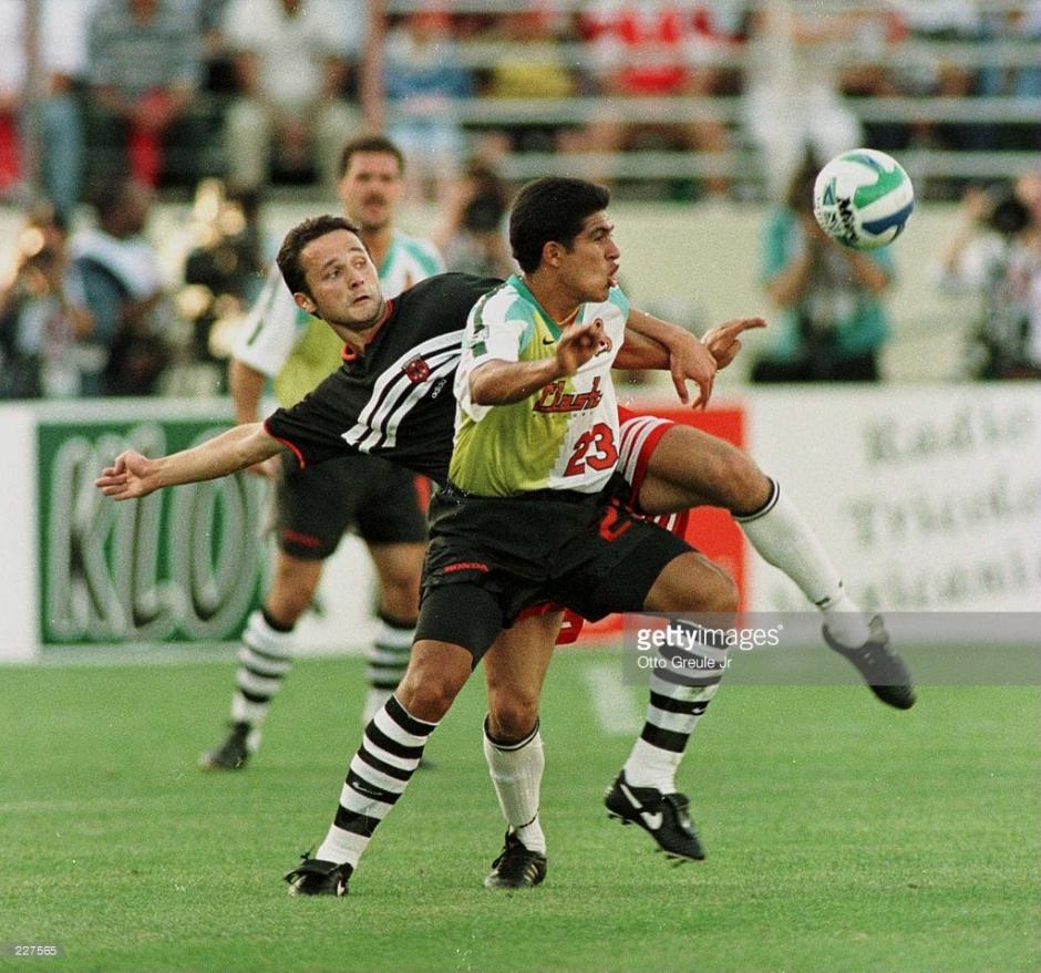 Rodas fue el primer guatemalteco (de 11) en jugar en la MLS. (Foto: Getty Images)