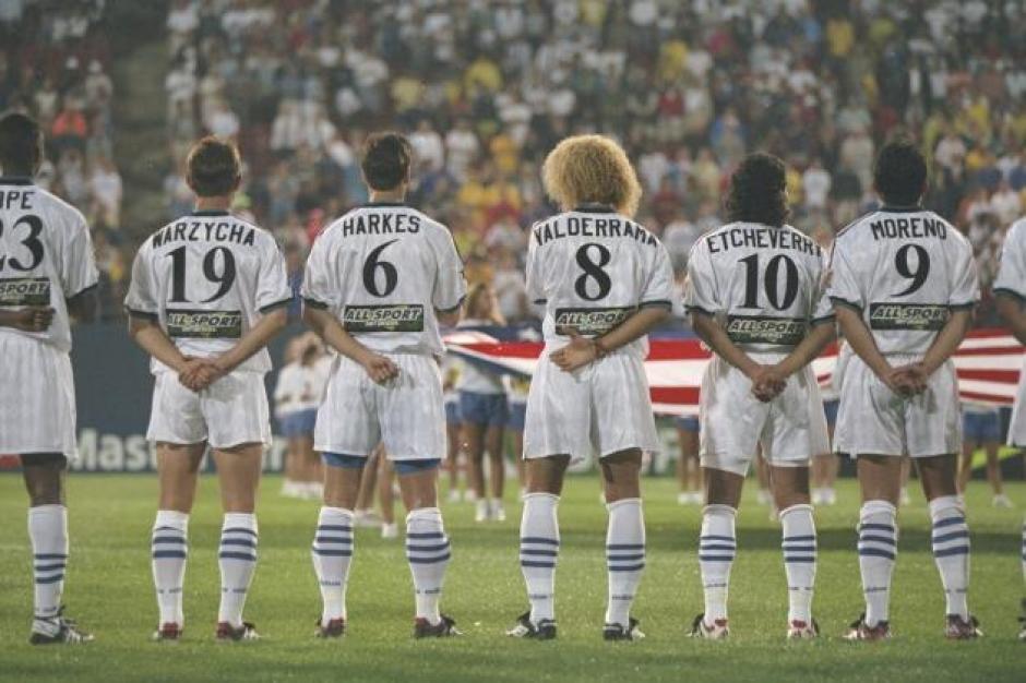 """Parte de los jugadores que iniciaron con la """"aventura de la MLS"""" en 1996. (Foto: Getty Images)"""