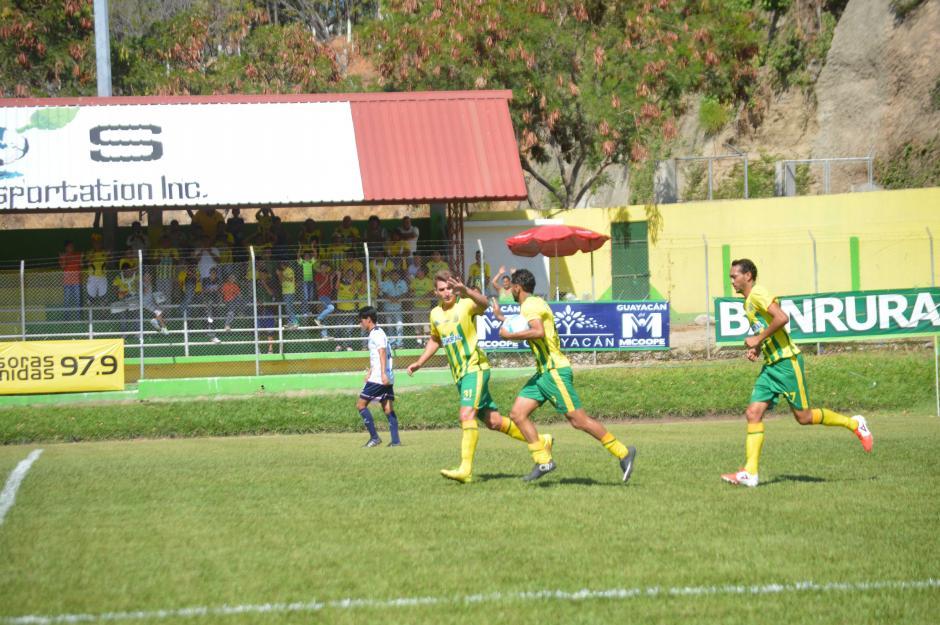 Guastatoya ganó su séptimo partido del torneo y salió de la mala racha.  (Foto: Nuestro Diario)