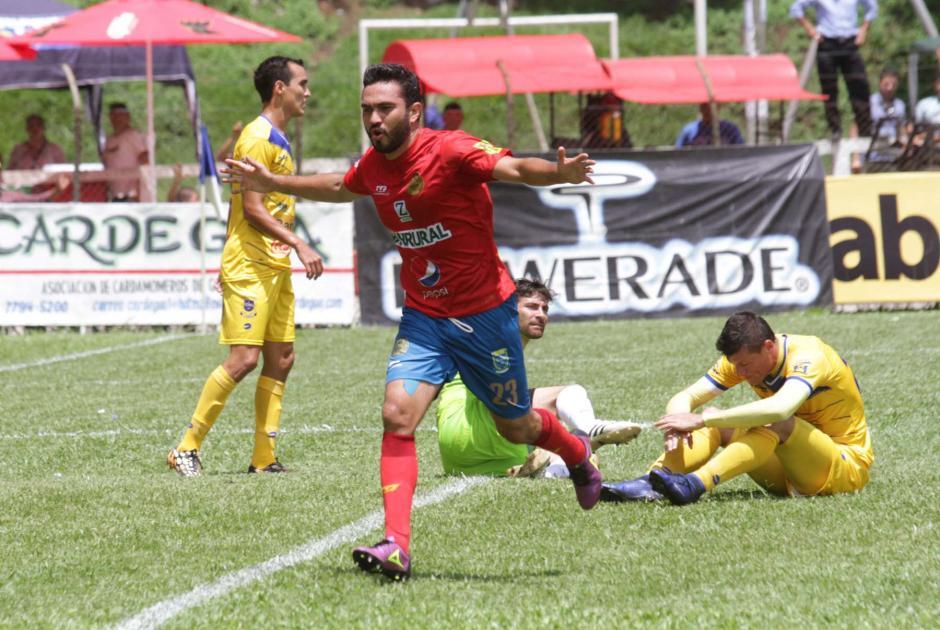 El mexicano Kamiani Félix llegó a seis goles en el Apertura 2016. (Foto: página oficial de Municipal)