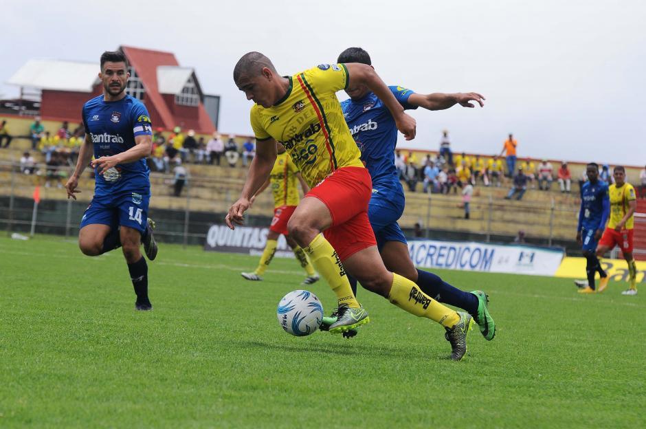 Marquense goleó en caa a Mictlán. (Foto: Esner Navarro/Nuestro Diario)