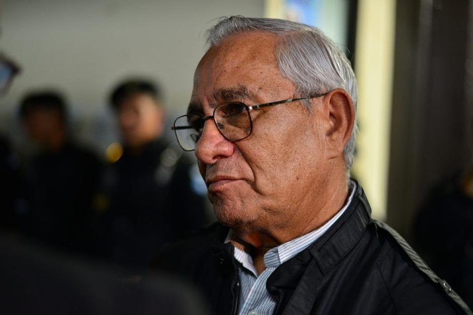 José Antonio Vásquez García también fue detenido. (Foto: Wilder López/Soy502)
