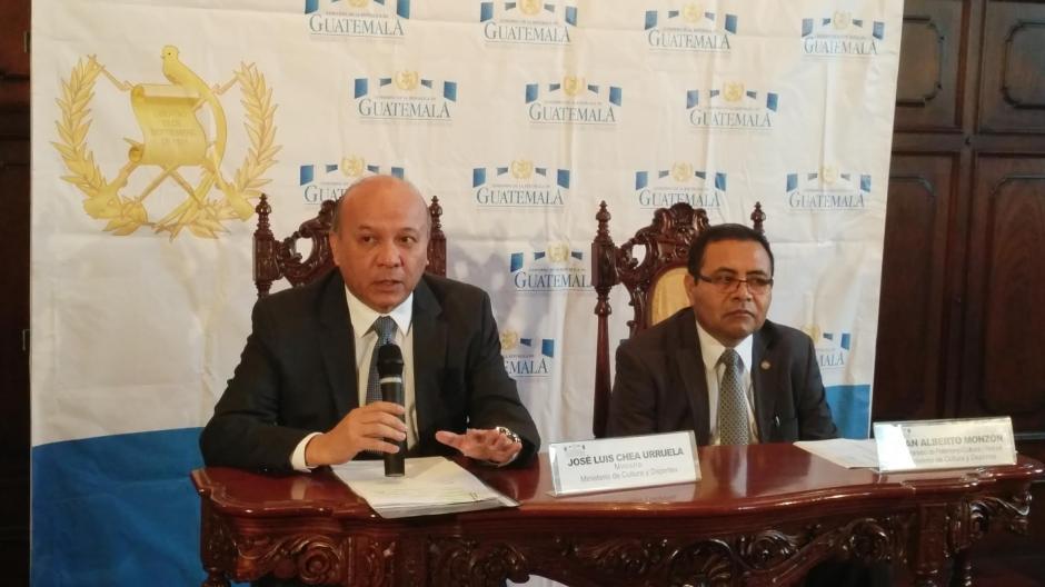 El Ministro de Cultura y Deportes denunció a dos empleados por las anomalías. (Foto: José Miguel Castañeda/Soy502)