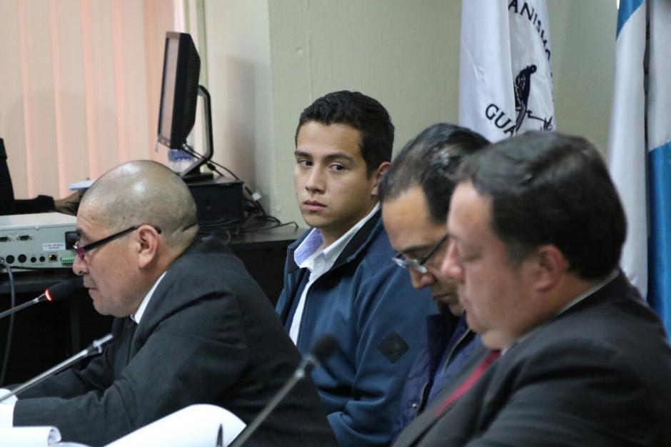 En la audiencia se abstuvo de declarar.  (Foto: Alejandro Balán/Soy502)