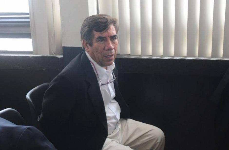 José Arturo Morales es acusado de negociar medidas sustitutivas para algunos implicados en el caso La Línea. (Foto: Alejandro Balán/Soy502)