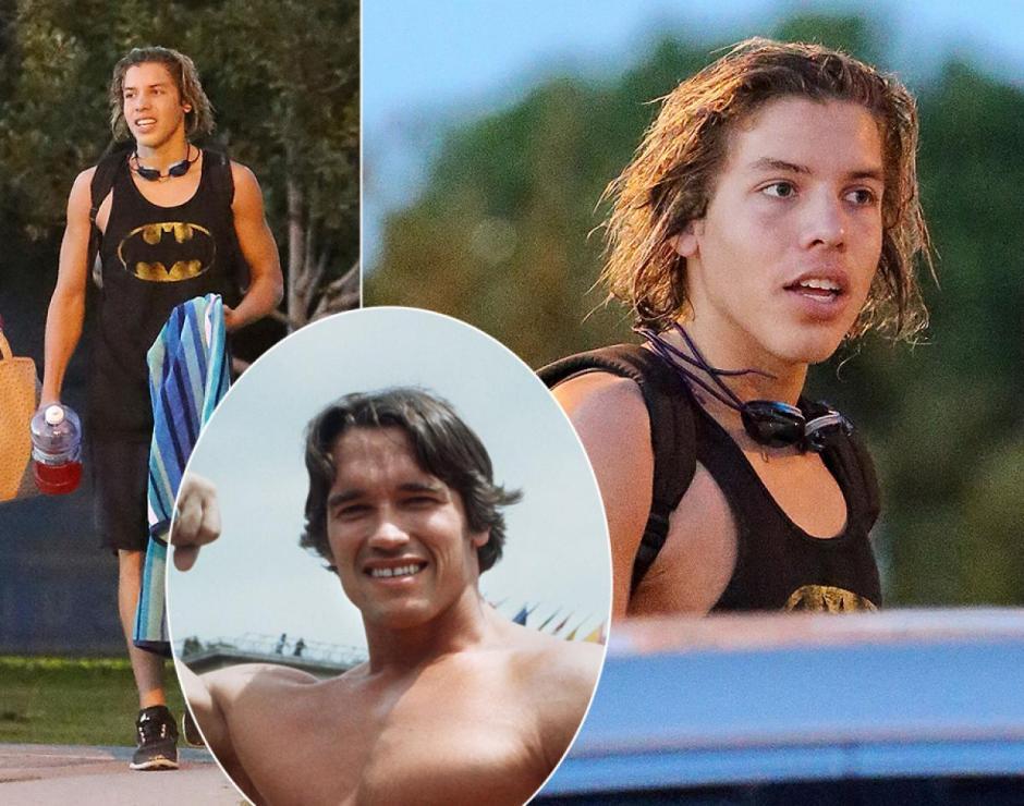 Así luce ahora Joseph Baena, el hijo de la niñera guatemalteca Mildred Baena y Arnolod Schwarzenegger. (Foto: Dayly news)