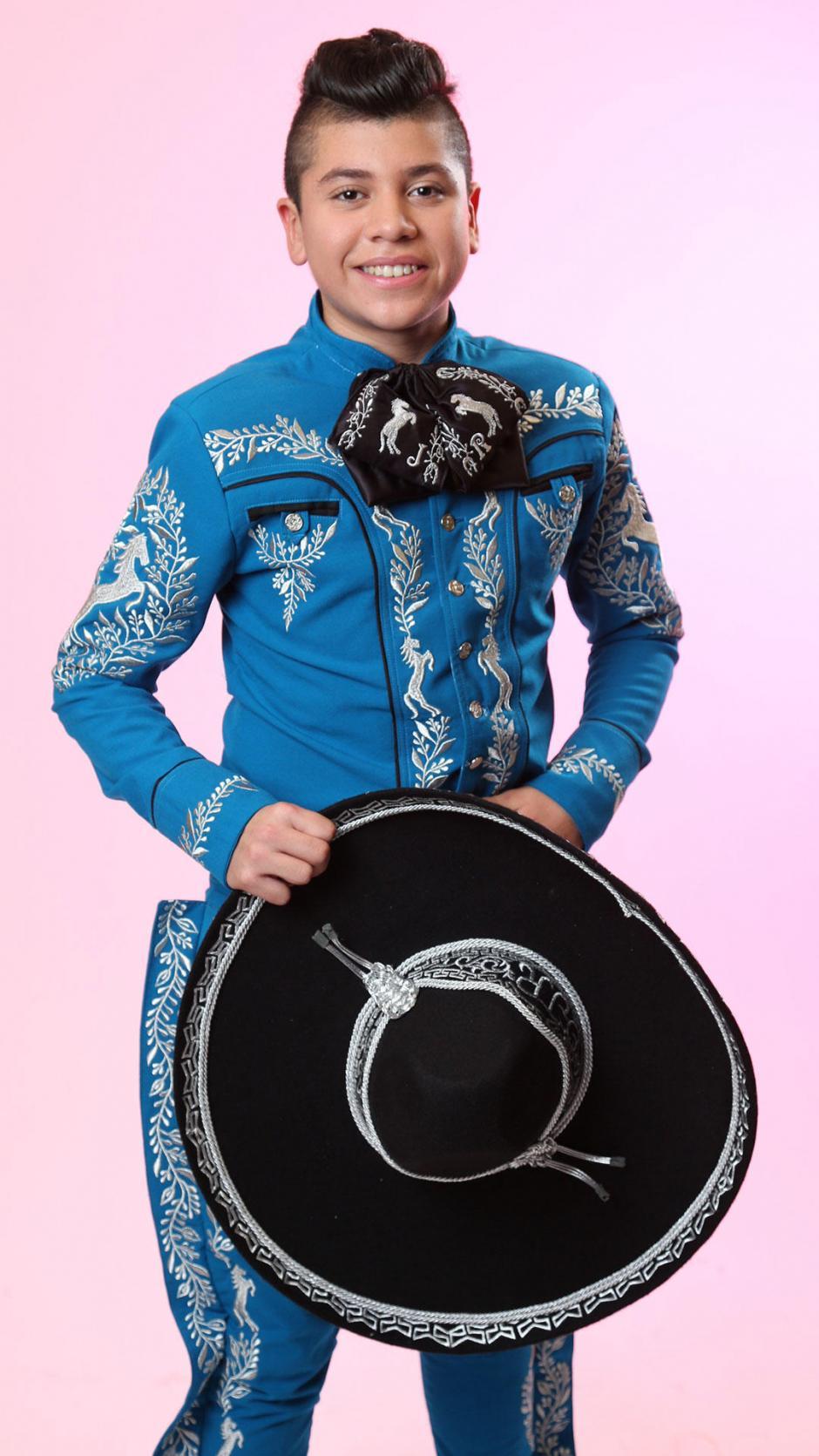 La inspiración de Joseph son Vicente y Pedro Fernández por su forma de interpretar la música mexicana. (Foto: La Voz Kids Telemundo)