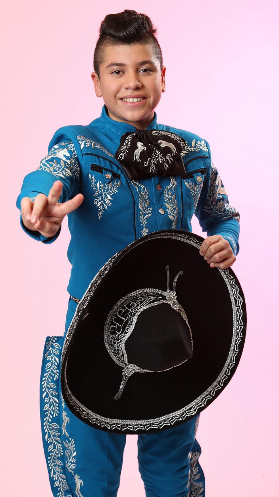 """Durante su audición, Joseph interpretó la canción """"Adelita"""". (Foto: La Voz Kids Telemundo)"""