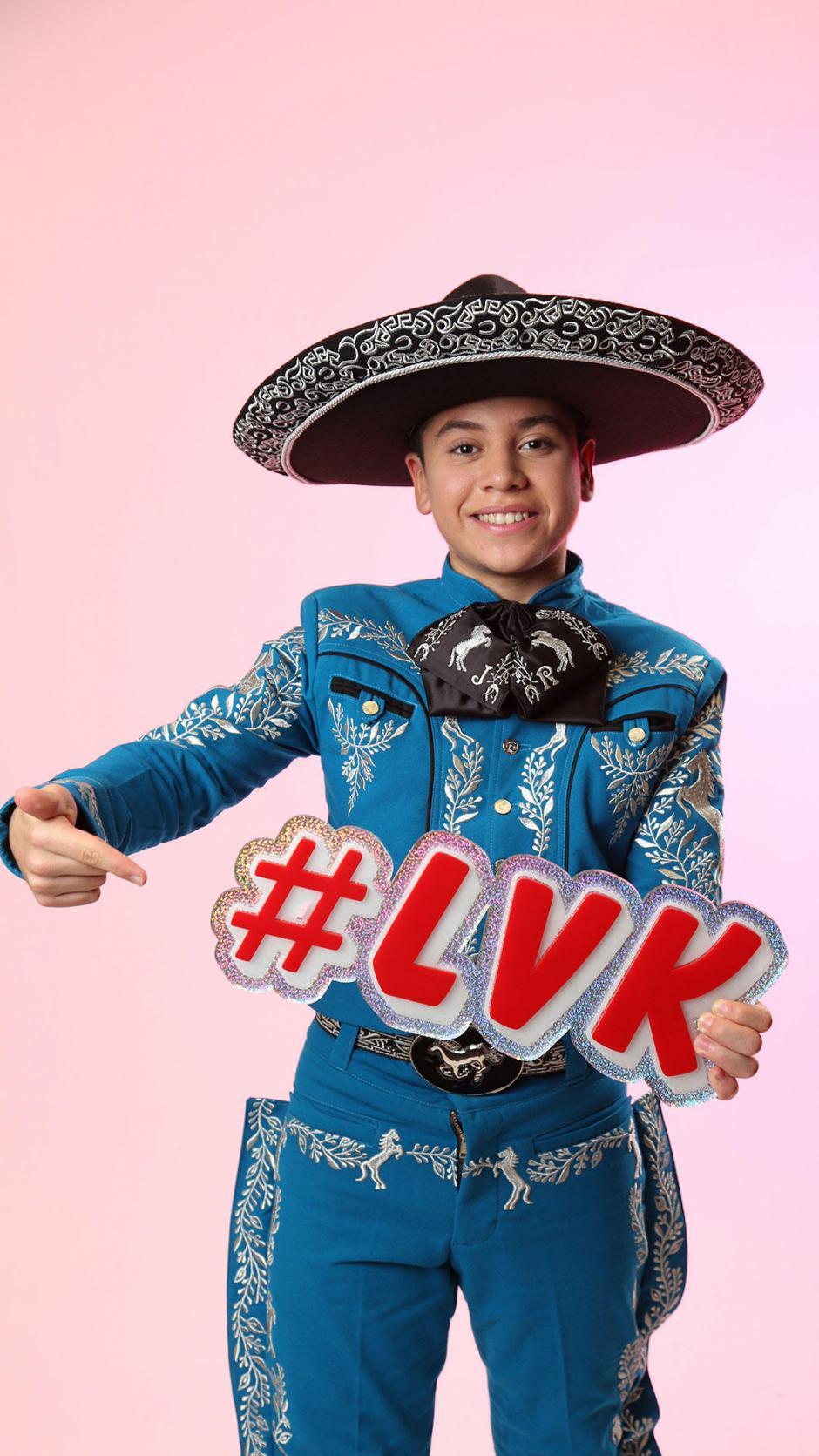 El gusto por la música mexicana mantiene vivo su sueño de convertirse en una estrella musical. (Foto: La Voz Kids Telemundo)