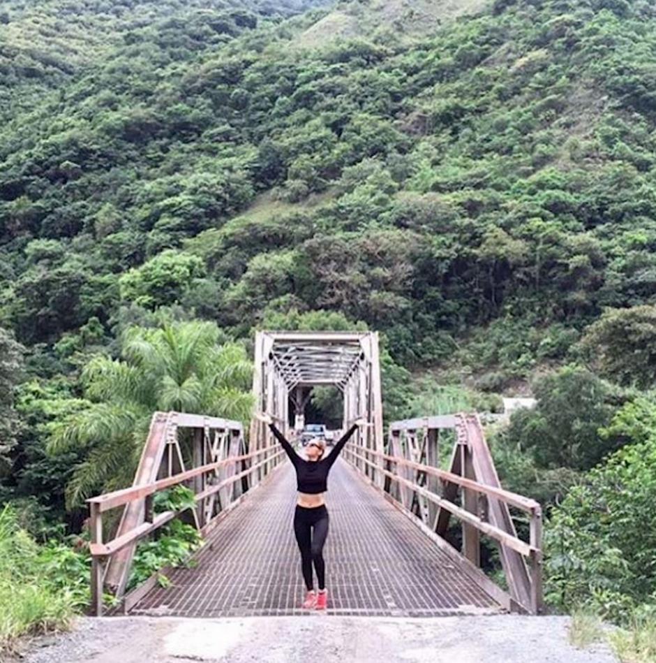 Las curvas de esta guatemalteca han robado suspiros en Estados Unidos y su tierra. (Foto: Josephine Ochoa)