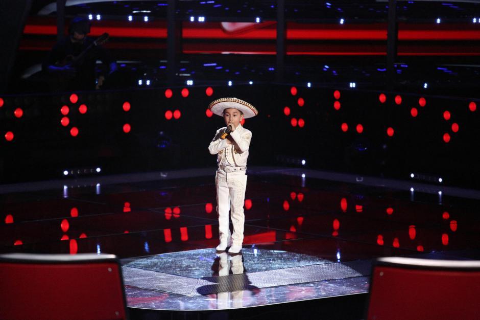 El pequeño Jossue fue el último en audicionar el fin de semana pasado y conquistó a los jueces. (Foto: Telemundo)