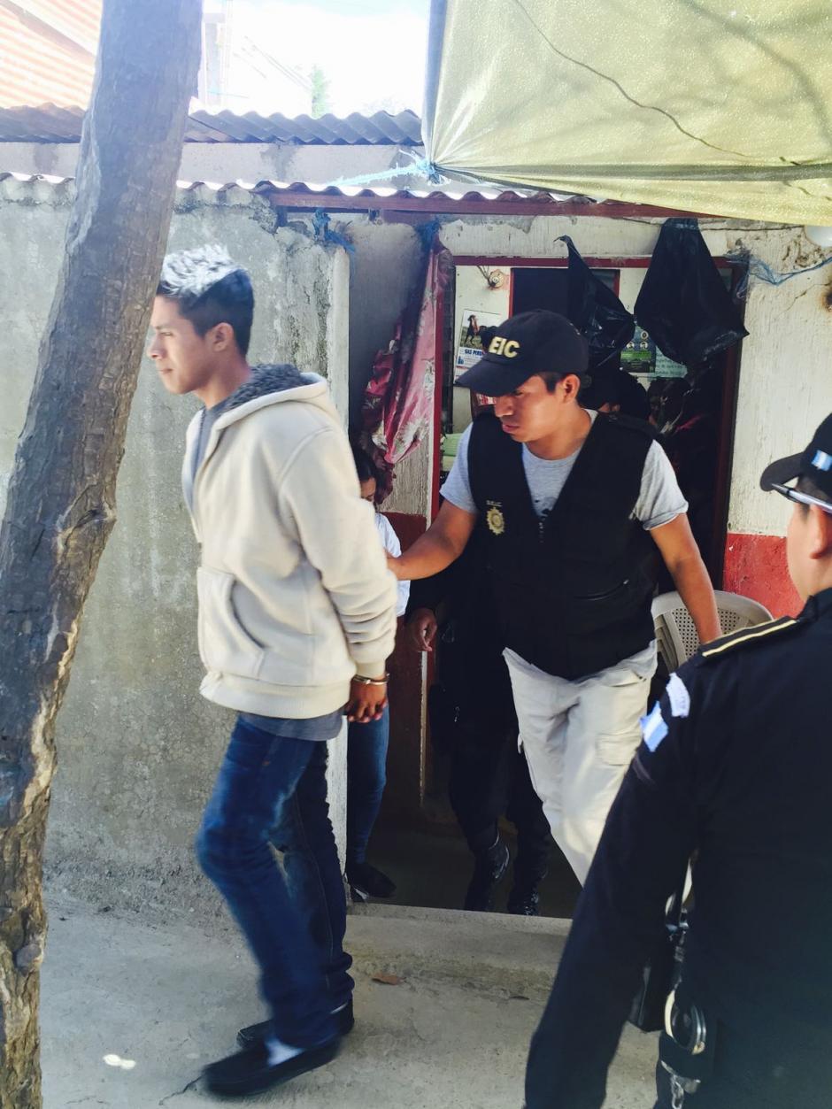 Josué Arévalo fue capturado en Villa Nueva. (Foto: MP)