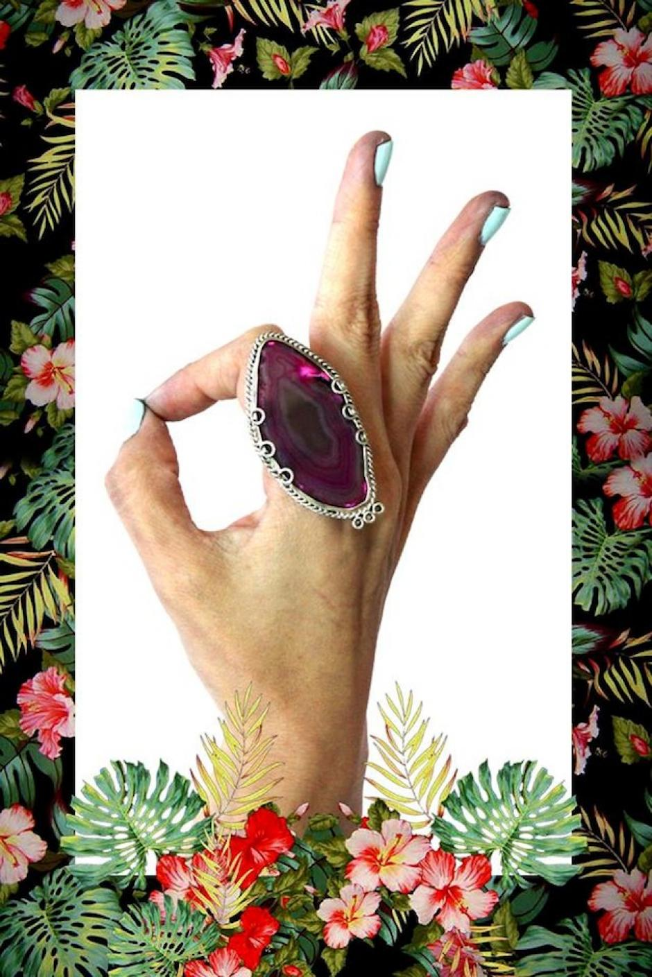 "Este anillo se llama ""La mayor ternura"". (Foto: Escarlata oficial)"