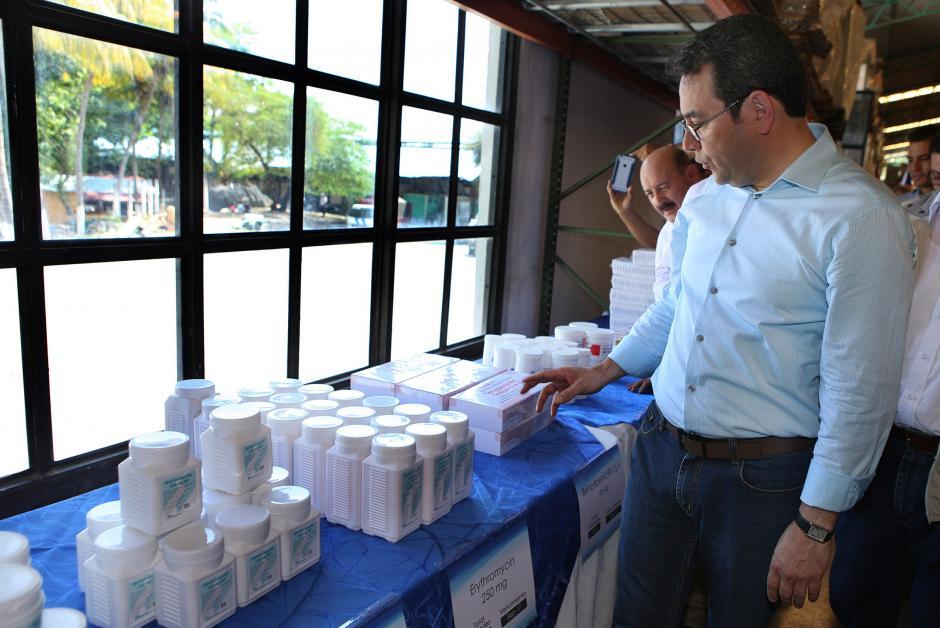 """Salud confirmó que """"esta vez no hay medicamentos vencidos"""". (Foto: Presidencia)"""