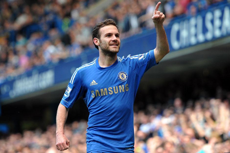 Juan Mata apenas ha jugado 90 minutos en lo que va de la Premier League con el Chelsea de José Mourinho