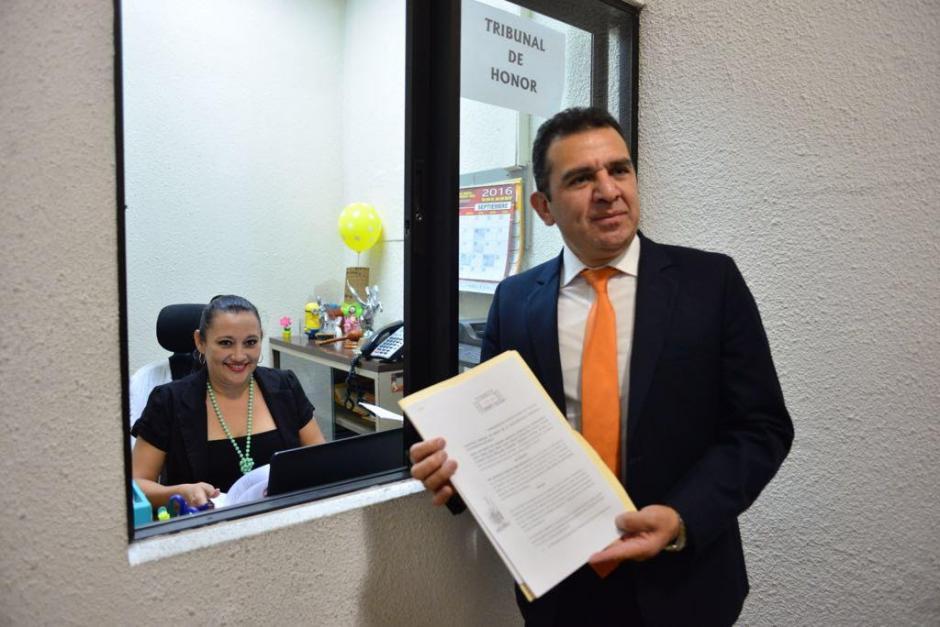 Los federativos presentaron la apelación a la sanción impuesta al Comité de Regularización de la Fedefutbol. (Foto: Jesús Alfonso/Soy502)