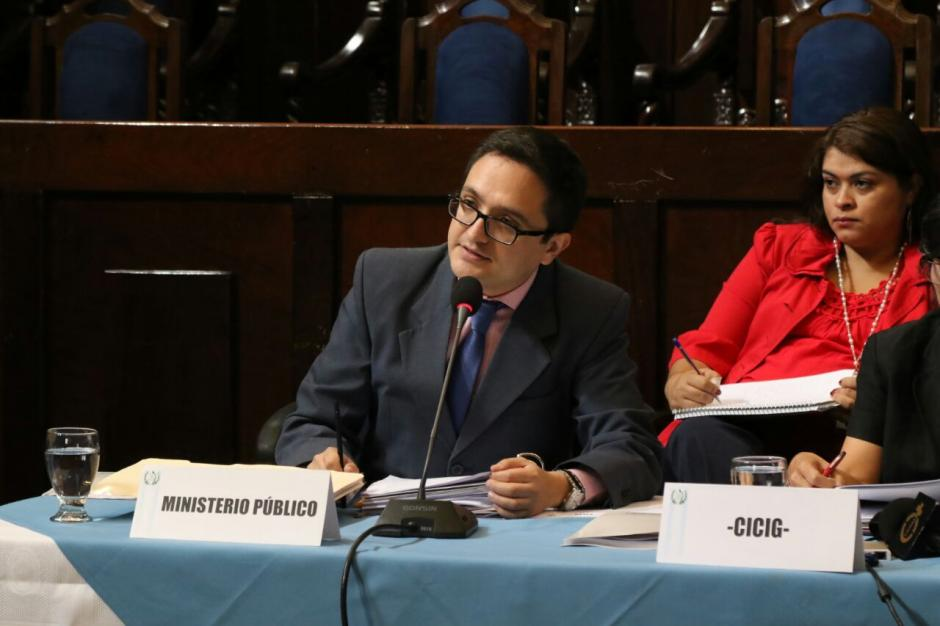 El MP ratificó la denuncia contra Stalling. (Foto: Alejandro Balán/Soy502)