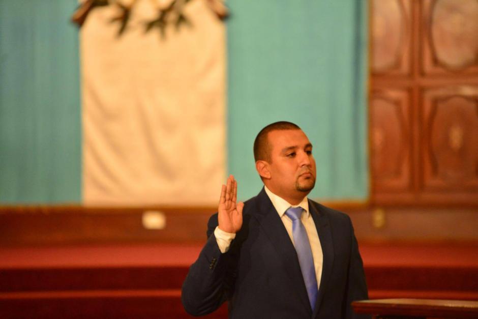 Solórzano Foppa dijo que luchará contra la corrupción y que tiene ganas de trabajar. (Foto: Jesús Alfonso/Soy502)