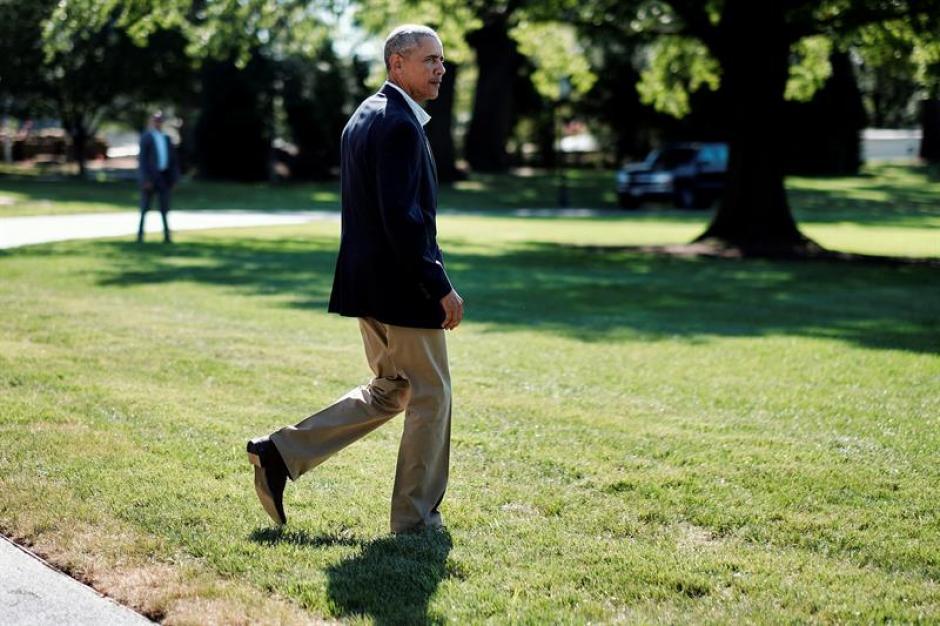 El presidente estadounidense Barack Obama transmitió su pésame por la muerte de Juan Gabriel. (Foto: Efe)