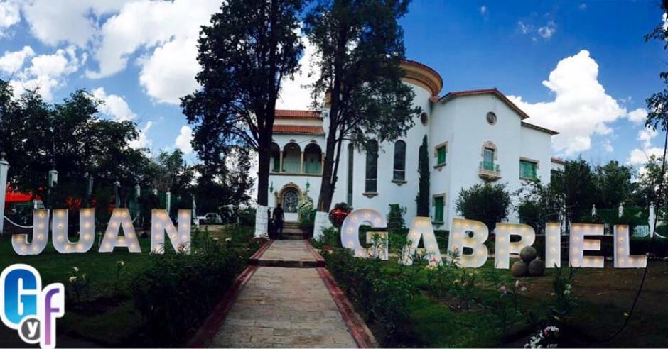 Así luce casa de Juan Gabriel en Ciudad Juarez. (Foto: El gordo y la flaca)