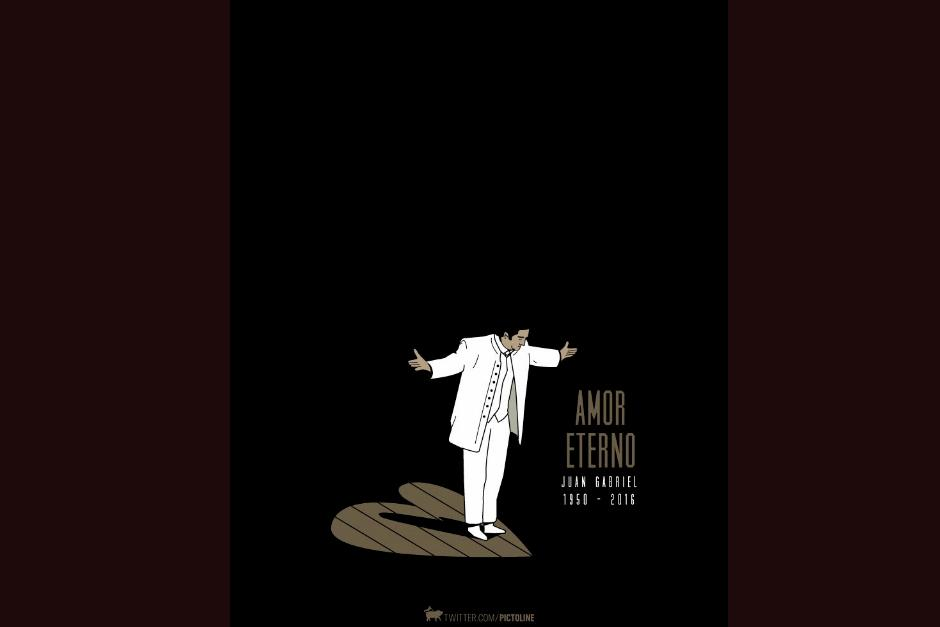 Pictoline se despidió así del ídolo latinoamericano. (Foto: Pictoline)