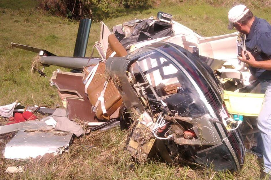 Juan Pablo sufrió un accidente aéreo en 2012. (Foto: Video)