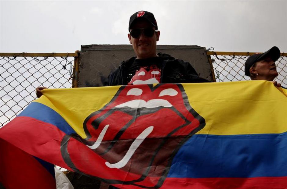 Los fanáticos colombianos jamás se imaginaron esta sorpresa. (Foto: EFE)