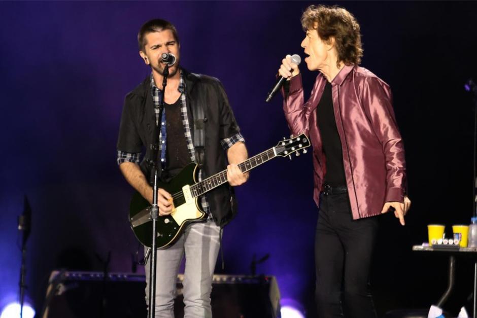 A cinco horas del concierto, Juanes alertó a sus fans y seguidores que estaría en Bogotá para ver a los Rolling Stones. (Foto: www.mundotkm.com)