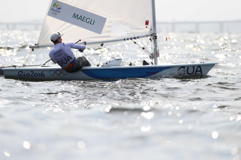 """""""Juani"""" finalizó en el puesto 16 en las primeras dos regatas. (Foto: Comité Olímpico Guatemalteco)"""