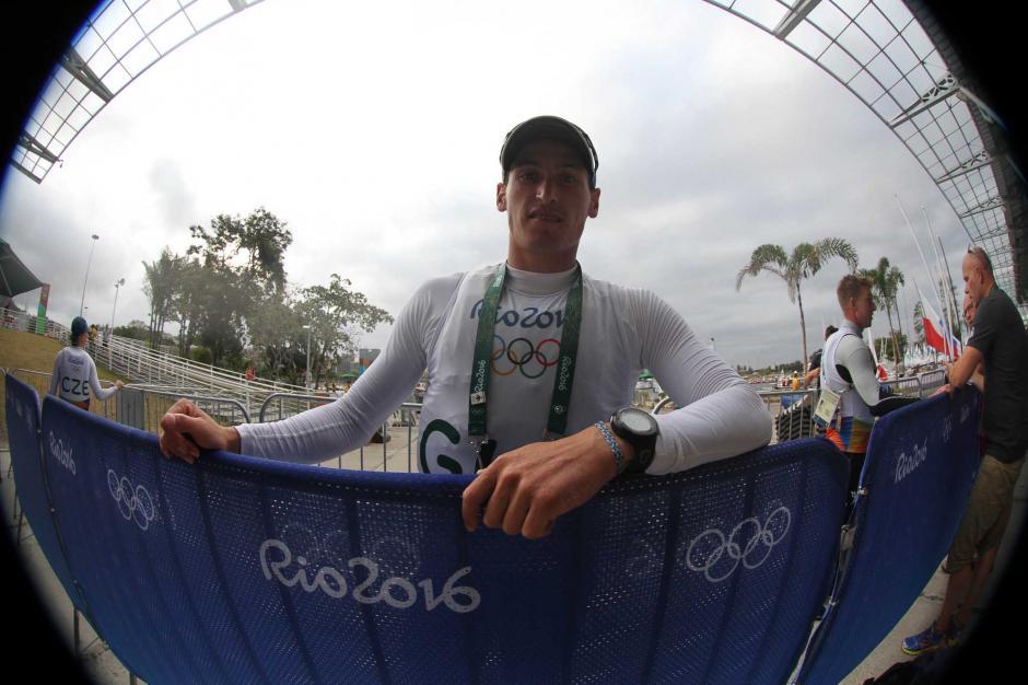 Maegli debutó este lunes en Río de Janeiro 2016. (Foto: Comité Olímpico Guatemalteco)