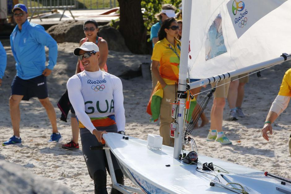 """Maegli, de 28 años, dice que seguirá """"veleando"""" en busca de su sueño. (Foto: Sergio Muñoz/Enviado de ACD)"""