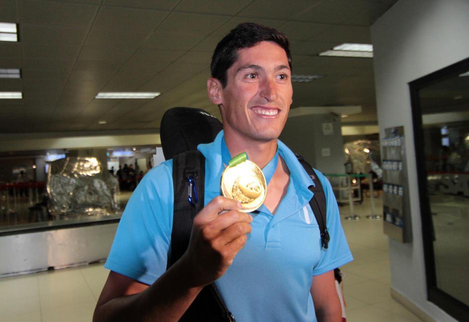 Juan Ignacio Maegli vuelve a casa tras ganar medalla de oro para Guatemala. (Foto: Luis Barrios/Soy502)