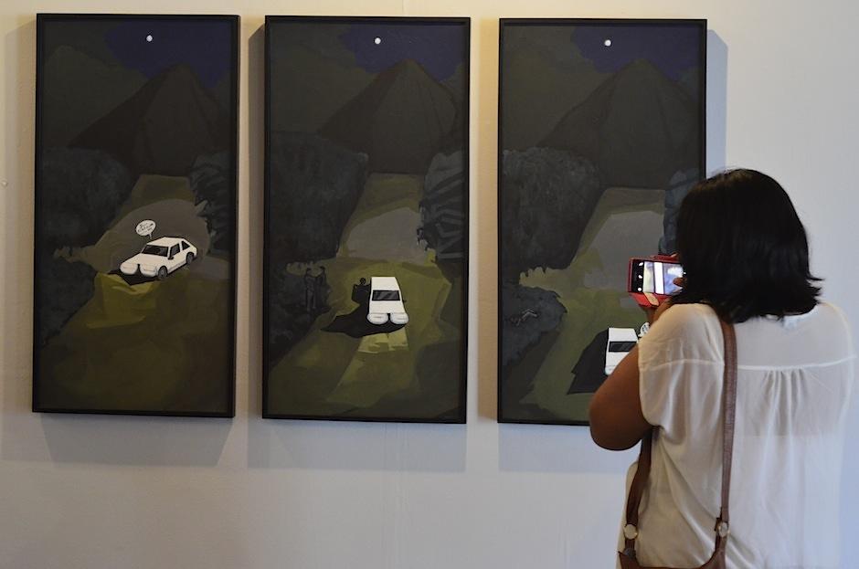 """La obra de """"Karmadavis"""" también compartió el primer lugar. (Foto: Selene Mejía/Soy502)"""
