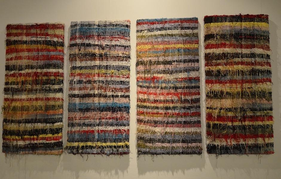 La propuesta de Benvenuto Chavajay está en el Museo de Arte Moderno. (Foto: Selene Mejía/Soy502)