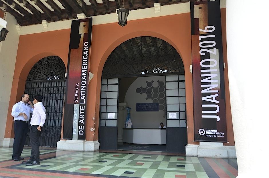 La exposición se lleva a cabo en el Museo de Arte Moderno. (Foto: Selene Mejía/Soy502)
