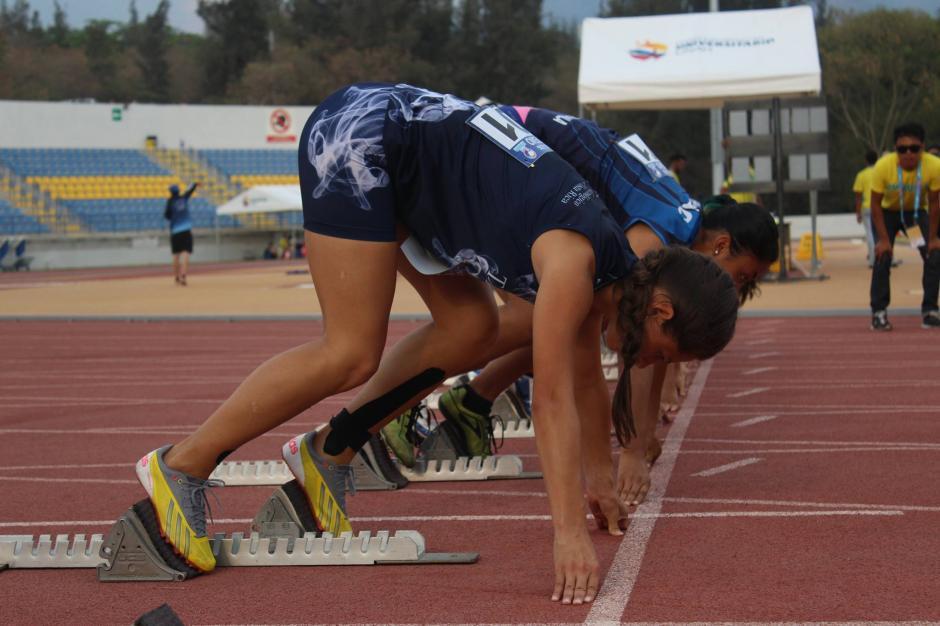 En plena competencia, la guatemalteca en los Juduca 2016. (Foto: Juduca 2016)