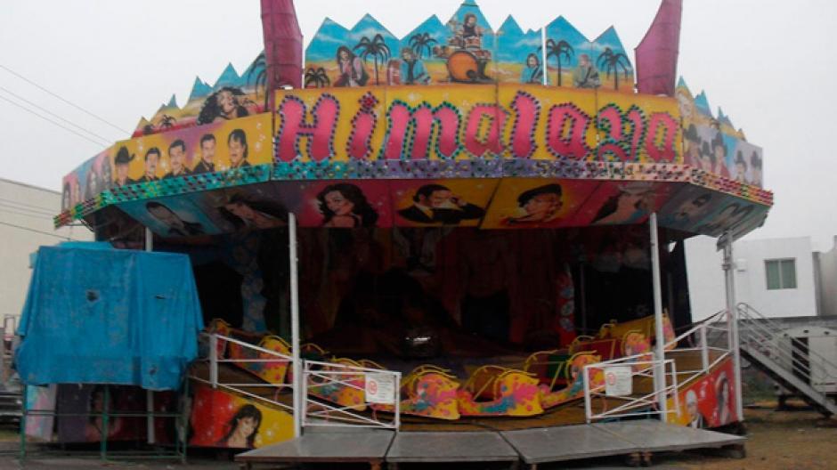 """El juego mecánico llamado """"Himalaya"""". (Foto: Mi Morelia)"""