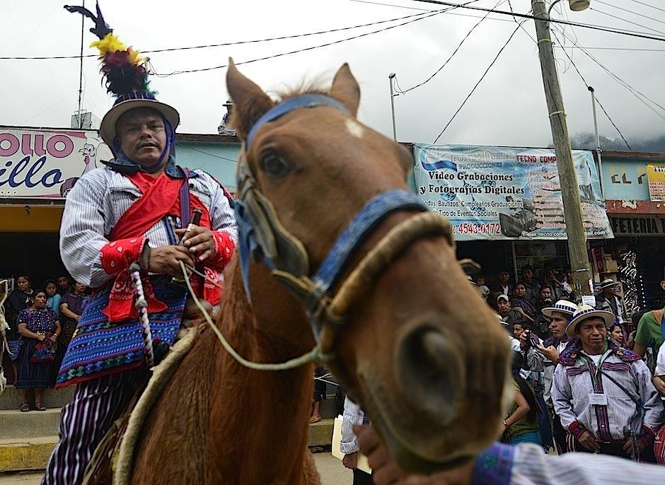 Los caballos también son cuidados durante el año. (Foto: Selene Mejía/Soy502)