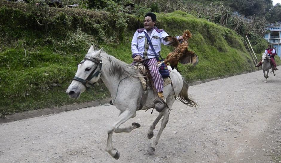Para realizarla deben sacrificar un gallo, derramando su sangre en la tierra a manera de ofrenda. (Foto: Selene Mejía/Soy502)