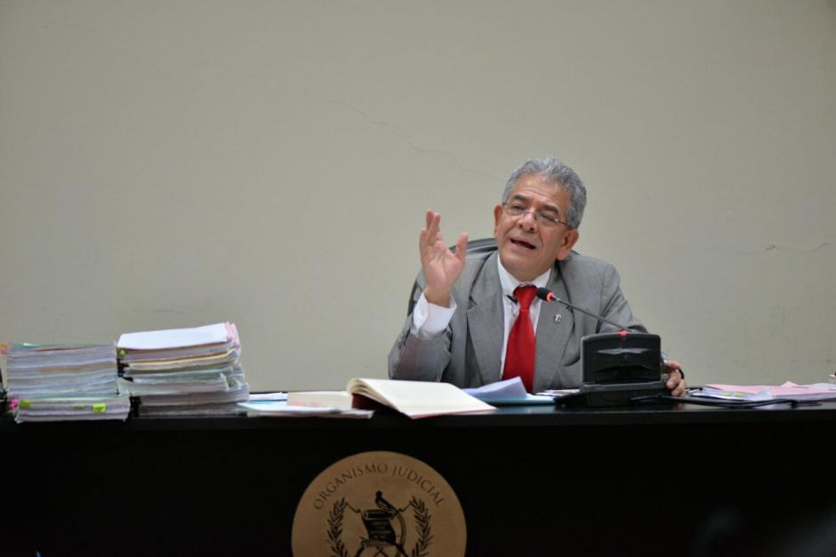 El juez Miguel Ángel Gálvez sigue este nuevo caso de corrupción. (Foto: Wilder López/Soy502)