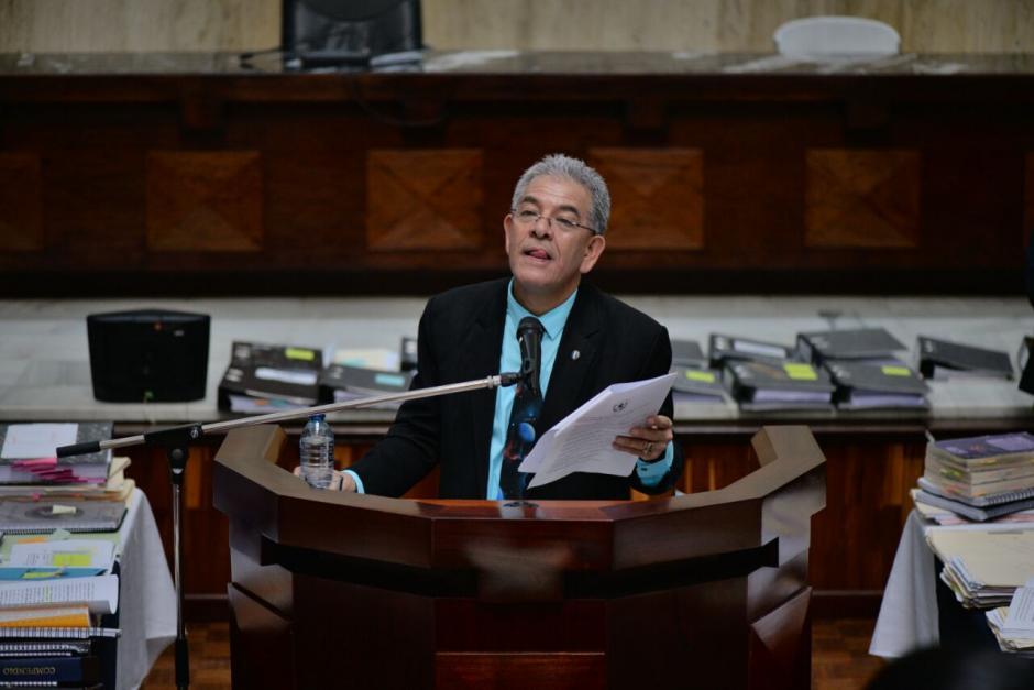 """El juez de Mayor Riesgo """"B"""", Miguel Ángel Gálvez dará su resolución en el caso Cooptación del Estado. (Foto: Wilder López/Soy502)"""