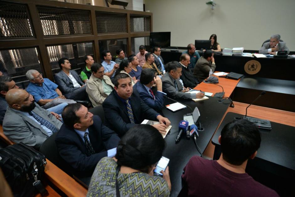 Los implicados en un nuevo escándalo de corrupción fueron enviados a prisión preventiva. (Foto: Wilder López/Soy502)