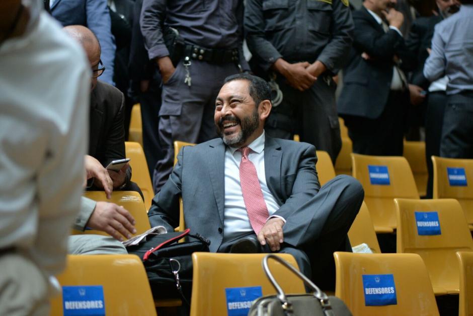 El exministro de Gobernación, Mauricio López Bonilla fue enviado a prisión preventiva. (Foto: Wilder López/Soy502)