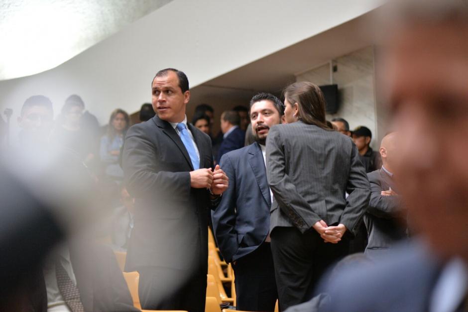 El exministro de Cultura y Deporte, Dwight Pezzarossi fue enviado a prisión. (Foto: Wilder López/Soy502)