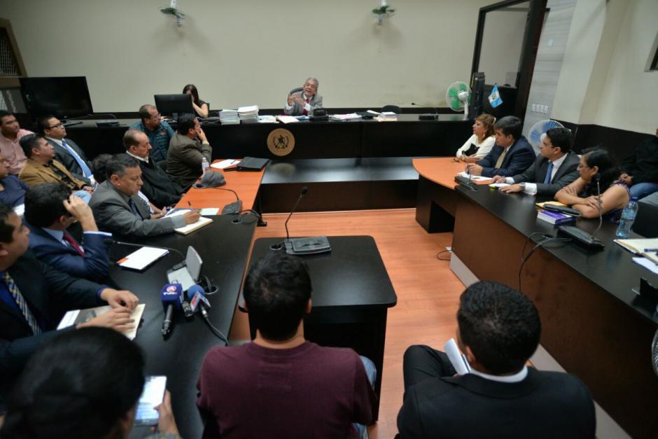 El juzgado B de Mayor Riesgo citó a los capturados a su audiencia de primera declaración este lunes 6 de junio. (Foto: Wilder López/Soy502)