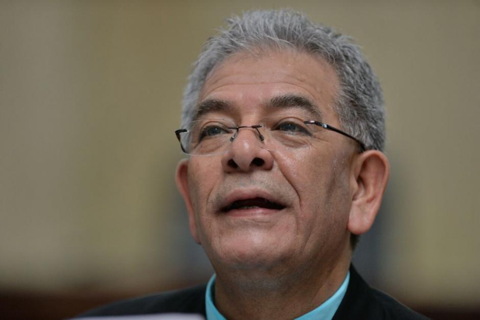 Según el juzgador la resolución tardará varias horas.  (Foto: Wilder López/Soy502)